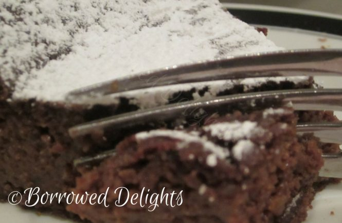 Fudgy Chocolate Quinoa Cake