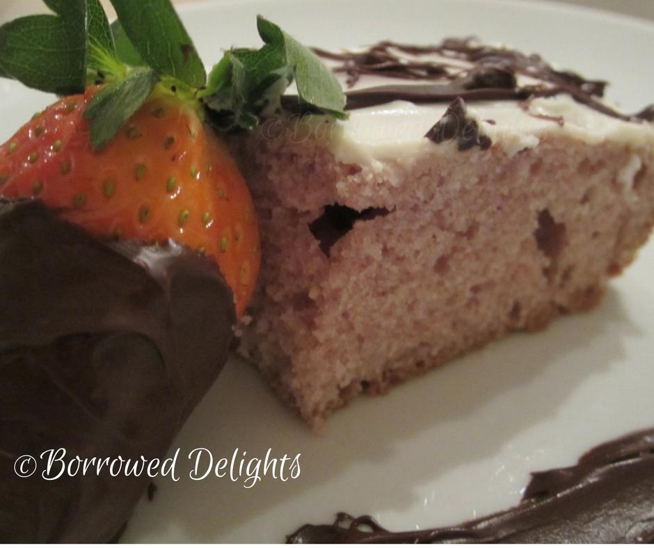 Strawberry Cake From Scratch No Gelatin