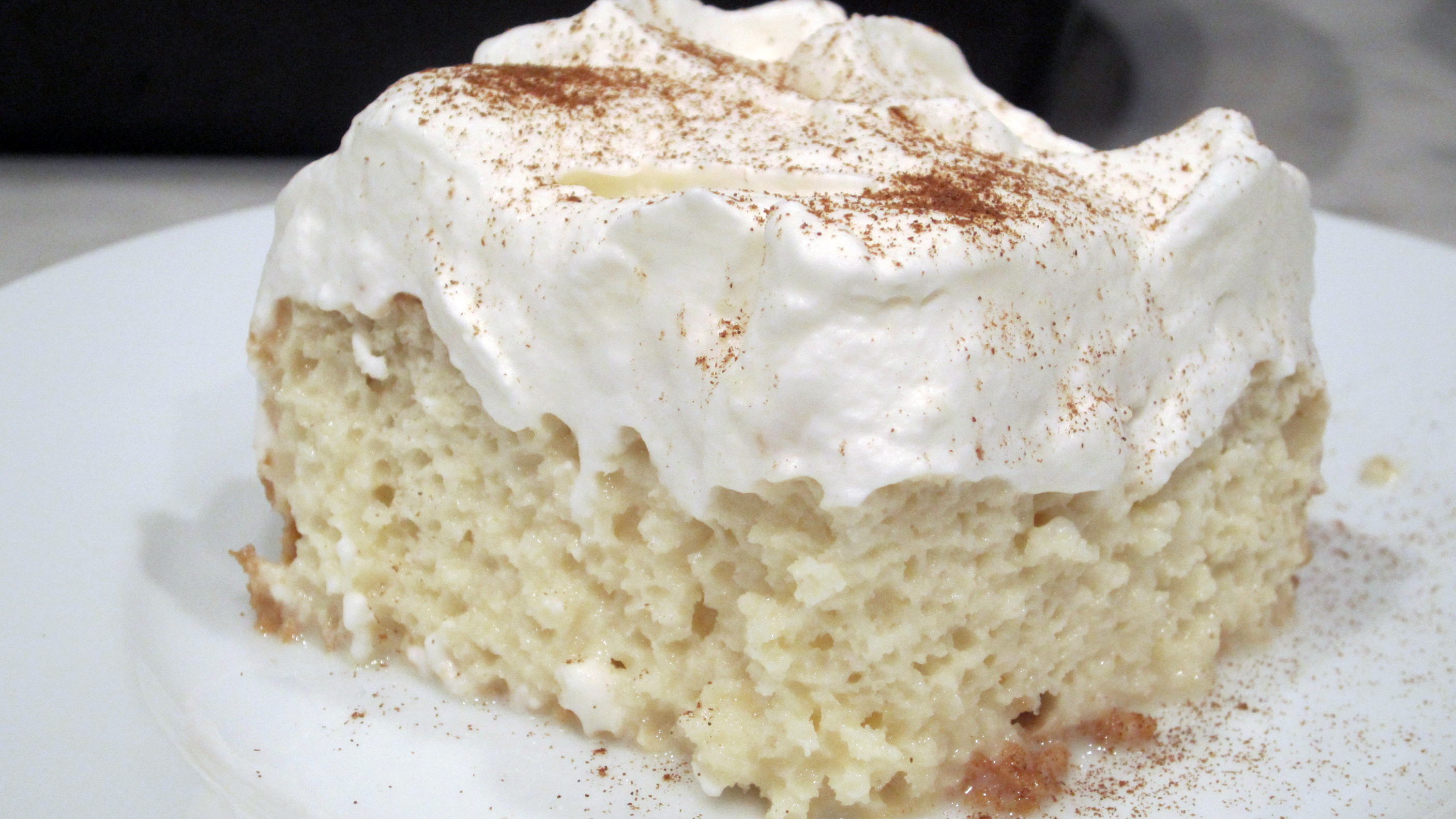 Tres Leches Cake Borrowed Delights
