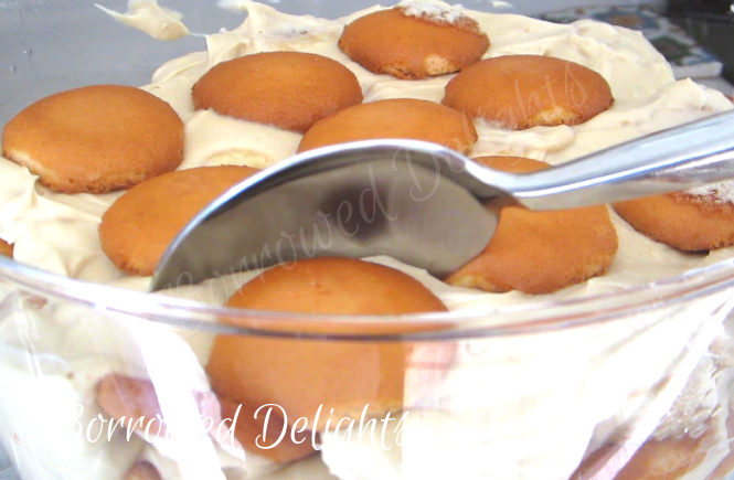 Butterscotch Banana Pudding