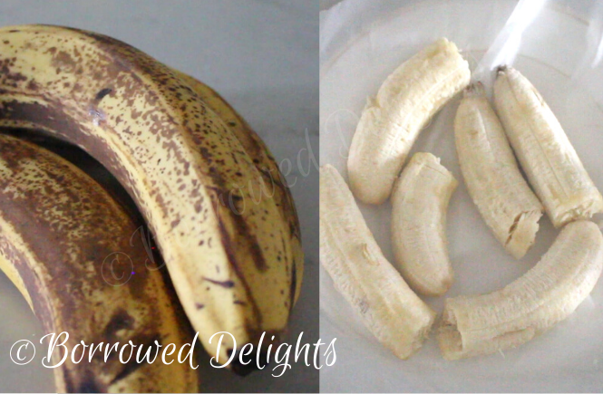 How to Freeze Ripe Banana's